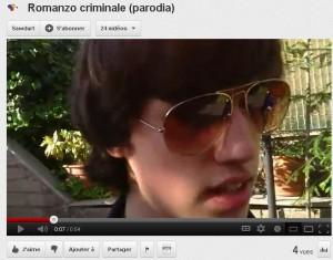 Romanzo Criminale ou l'explosion de l'objet